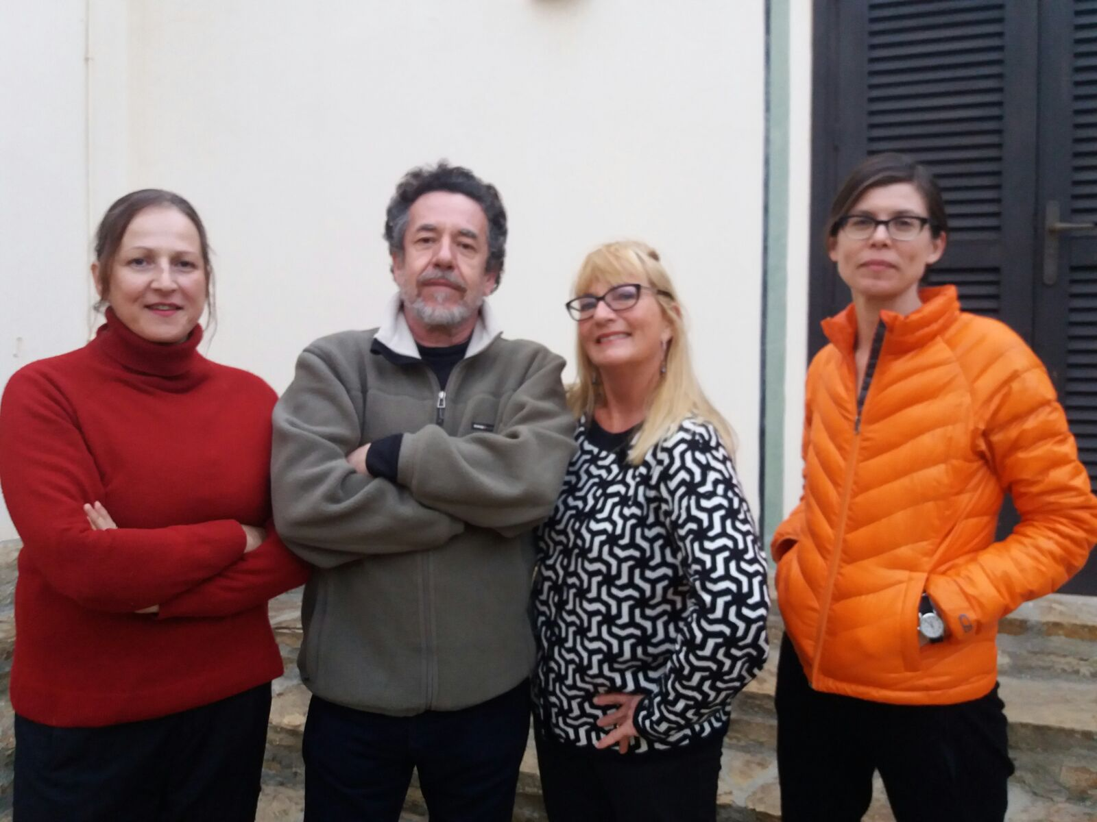 Artistas residentes en enero 2018