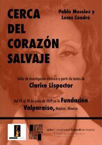 II Taller de Investigación Escénica de la Universidad Carlos III de Madrid en la Fundación Valparaíso
