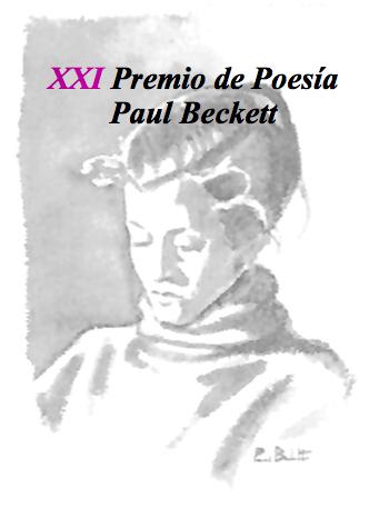 Convocamos nuestro XXI Premio de Poesía Paul Beckett
