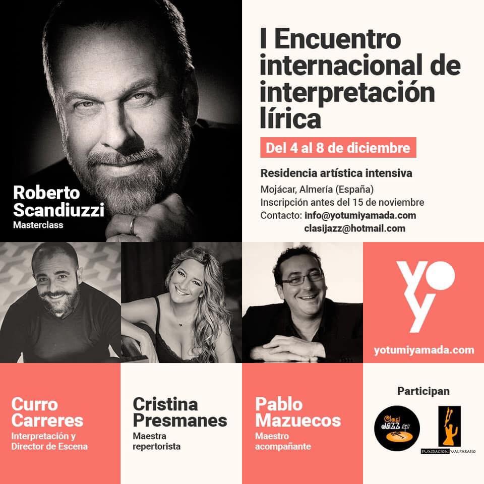 I Encuentro Internacional de Interpretación Lírica